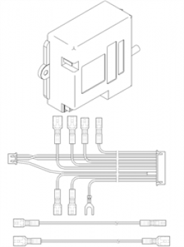 - 1147 Generator iskry  B188K-HP  z przewodami