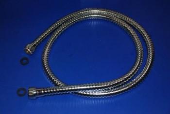 - 4684 Wąż do natrysku L=140cm chromowany