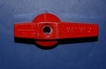 - 6542 Motylek aluminiowy czerwony L-65