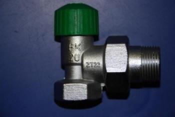 - 6711 Zawór grzejnikowy ZT22 FK20 chrom
