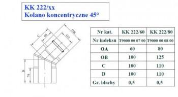 - 9715 Kolano koncentryczne 45st fi80/125