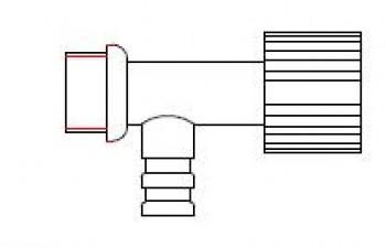 - *1366* Zawór spustowy do opróżniania zbiornika 35 l.